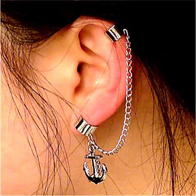 povoljno Modne naušnice-Žene Klipse Uho Manžete Naušnice Helix Sidro Statement dame Vintage Moda Naušnice Jewelry Pink Za Klub Jabuka