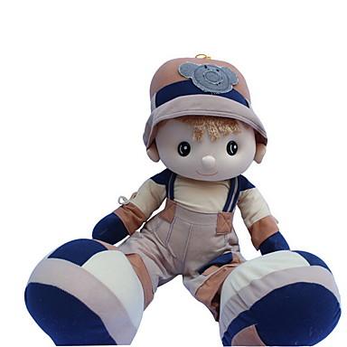 Κορίτσι κορίτσι Βελούδινη κούκλα 22 inch Χαριτωμένο Για παιδιά Μαλακό Ασφαλής για παιδιά Διακοσμητικό Non Toxic Παιδικά Κοριτσίστικα Παιχνίδια Δώρο / Μεγάλο Μέγεθος / Lovely