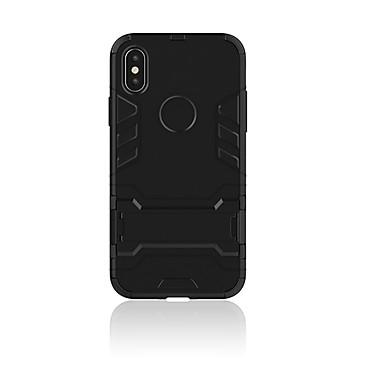 povoljno iPhone maske-Θήκη Za Apple / iPhone X iPhone X Otporno na trešnju Stražnja maska Oklop Tvrdo PC