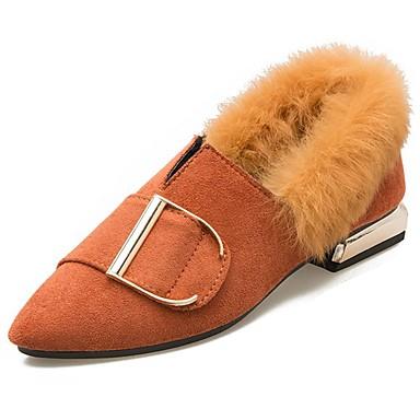 Mujer Zapatos Goma Invierno Confort Zapatos de taco bajo y Slip-On Dedo  redondo para Al aire libre Negro Marrón Claro Caqui 6384809 2018 –  19.99 2b20616267279