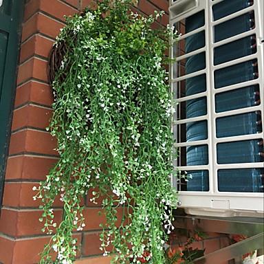 Ψεύτικα λουλούδια 2 Κλαδί μινιμαλιστικό στυλ Ποιμενικό Στυλ Φυτά Λουλούδι για Τραπέζι