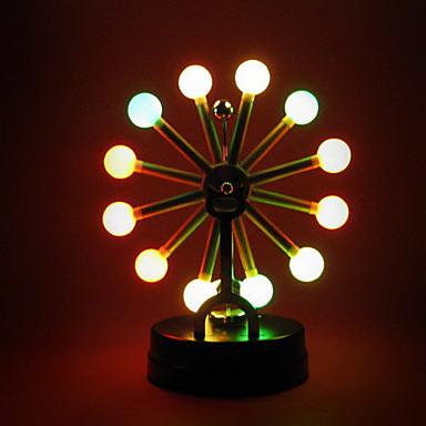 Κινητικά τροχιακά Φωτισμός LED Χριστουγεννιάτικα δώρα ΡΟΔΑ του λουνα παρκ Φωτισμός Γραφείο Γραφείο Παιχνίδια Παιδικά Αγορίστικα Κοριτσίστικα Παιχνίδια Δώρο 1 pcs