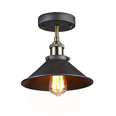 OYLYW Montagem do Fluxo Luz Descendente Acabamentos Pintados Metal Estilo Mini 110-120V / 220-240V Lâmpada Não Incluída / E26 / E27