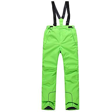 Phibee Ανδρικά Παντελόνι για σκι Σκι Αδιάβροχη Αντιανεμικό Ζεστό Πολυεστέρας Ζεστό παντελόνι Ενδυμασία σκι / Χειμώνας