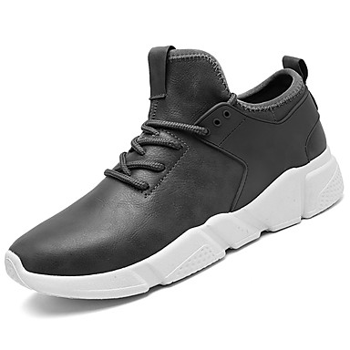 e057cc79d835 Men s Shoes Synthetic Microfiber PU   PU   Leatherette Spring   Fall  Comfort Athletic Shoes Running Shoes White   Black   Gray 6353715 2019 –   22.99