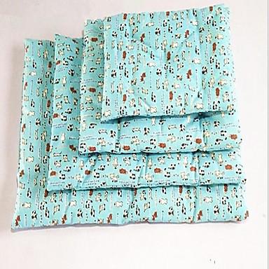 Φορητό / Διατηρείτε Ζεστό / Με δύο πλευρές Ρούχα για σκύλους Κρεβάτια Ζώο / Κινούμενα σχέδια Μπλε / Ροζ Γάτα / Σκύλος