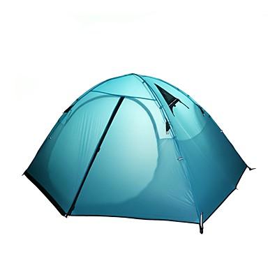 2 άτομα Αντίσκηνα Βουνού Εξωτερική Ελαφρύ Αντιανεμικό Αδιάβροχο Διπλής στρώσης Camping Σκηνή >3000 mm για Κατασκήνωση & Πεζοπορία Αναρρίχηση Κατασκήνωση / Πεζοπορία / Εξερεύνηση Σπηλαίων Επίστρωση