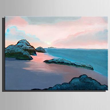 Hang målad oljemålning HANDMÅLAD - Landskap Rustik Moderna Duk 6371885 2018  –  58.99 61a8d3a16c9cd