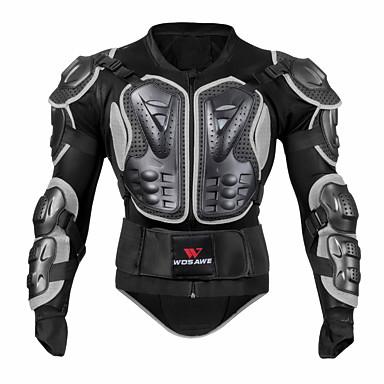 billige Motorsykkel & ATV tilbehør-wosawe bc202-1 beskyttelsesutstyr motorsykkel beskyttelsesutstyr unisex voksne eva pe utendørs støtdempende sikkerhetsutstyr
