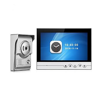 povoljno Zaštita i sigurnost-9 inčni monitor za snimanje u boji video sustav interkom telefonskih vrata s vodootpornim poklopcem na otvorenom cmos fotoaparatu