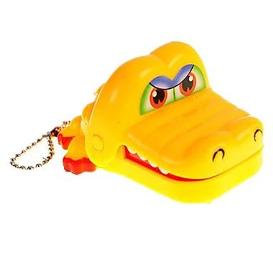 Brinquedos de Pegadinha Dentista De Crocodilo Crocodilo Porta-Chaves Mordida de mão Crianças Adulto Brinquedos Dom