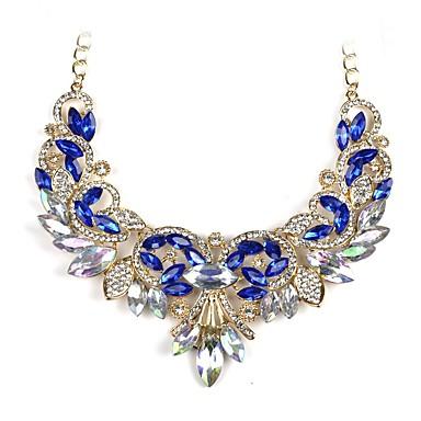 Γυναικεία Μενταγιόν Υδροχόος κυρίες Κλασσικό Μοντέρνα Πετράδι Κράμα Λευκό Σκούρο μπλε Κολιέ Κοσμήματα Για Αρραβώνας Γαμήλια Τελετή