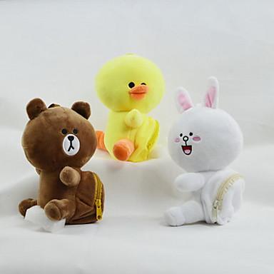 Animales De Peluche Y De Felpa Rabbit Pollo Pato Animales Decorativa