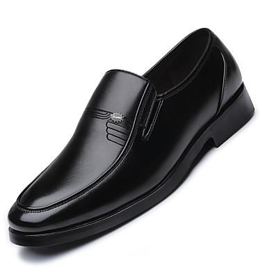 Ανδρικά Τα επίσημα παπούτσια Μικροΐνα Άνοιξη / Καλοκαίρι Μοκασίνια & Ευκολόφορετα Μαύρο / Πάρτι & Βραδινή Έξοδος