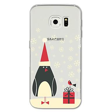 tok Για Samsung Galaxy S8 Plus / S8 / S7 edge Με σχέδια Πίσω Κάλυμμα Κινούμενα σχέδια / Χριστούγεννα Μαλακή TPU