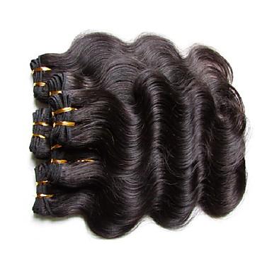 Brasiliano Ondulato naturale Cappelli veri Ciocche a onde capelli veri  Tessiture capelli umani Estensioni dei capelli umani Per donna del 6525171  2019 a
