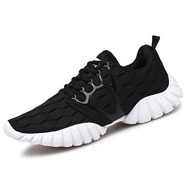 Mujer Zapatos PU microfibra sintético Primavera / Verano Confort Zapatillas de Atletismo Paseo Tacón Plano Dedo redondo Fucsia / RmiGrF