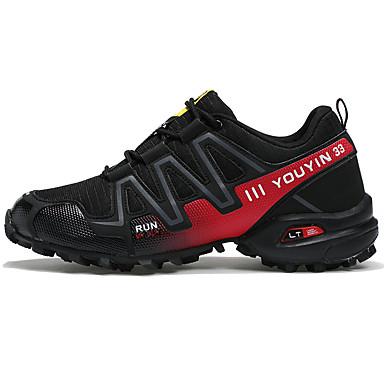 Hombre Zapatos Malla Otoño Confort Zapatillas de Atletismo Paseo Gris / Negro / verde / Negro / azul dKpNb