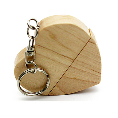 μυρμήγκια ξύλινη μορφή καρδιά keychain 8GB usb flash drive 64g 32g 16g USB usb δίσκο usb 2.0 usb εξαιρετική pendrive