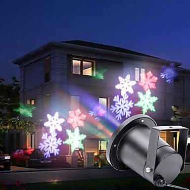 U'King Luzes LED de Cenário automático 4 W para Exterior / De Festa / Palco Natal / Profissional / Floco de Neve