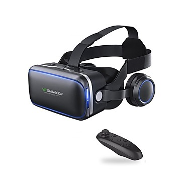 cheap Audio & Video-VR Shinecon 6.0 Headset Version Virtual Reality Glasses 3D Glasses Headset Helmets Smartphone with Controller