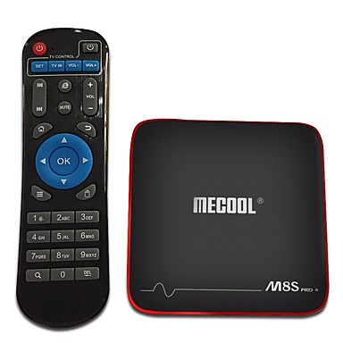 MECOOL M8S PRO W TV Box Android7.1.1 TV Box Amlogic S905W 2GB RAM 16GB ROM Quad Core