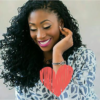 povoljno Ekstenzije za kosu-Kosa koja se plete Sestra Locs Micro Locs Twist pletenice 100% kanekalon kose 1 80 korijena / pakiranja Sušilo za pletenice Srednja dužina Nježno dizajneri Afričke pletenice