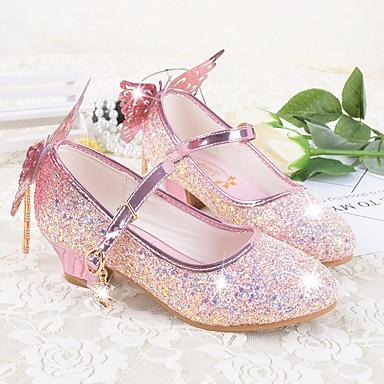 08056e1af6235 Fille Chaussures Microfibre   Polyuréthane Printemps été De minuscules  talons pour les ados Chaussures à Talons pour Décontracté Blanc   de  6390363 2019 à ...