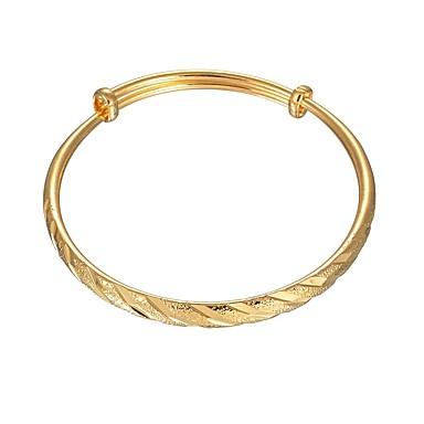 povoljno Modne narukvice-Žene Nakit za gležanj Narukvica Geometrijski Vintage Osnovni Kamen Narukvica Nakit Zlato Za Dnevno