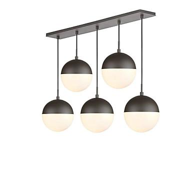 QINGMING® 5-Light Πολυέλαιοι Ατμοσφαιρικός Φωτισμός Βαμμένα τελειώματα Μέταλλο Γυαλί Mini Style 110-120 V / 220-240 V / E26 / E27