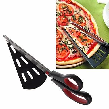 Εργαλεία ψησίματος Ανοξείδωτο Ατσάλι Πολυλειτουργία Νεό Σχέδιο Πίτσα κέικ Cutter 1pc