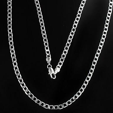 voordelige Herensieraden-Heren Kettingen Mariner Chain Goedkoop Legering Zilver Kettingen Sieraden Voor Kerstcadeaus Dagelijks