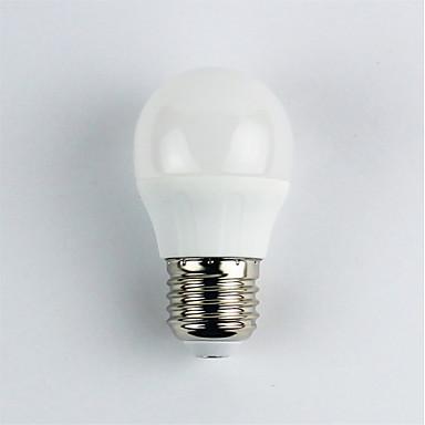 1pc 4 W LED Λάμπες Σφαίρα 310 lm E27 G45 6 LED χάντρες SMD 3528 Θερμό Λευκό 110-240 V