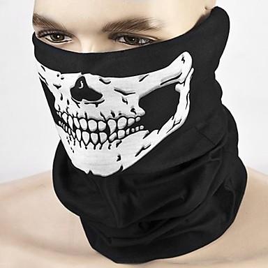 billige Motorsykkel & ATV tilbehør-ziqiao motorsykkel skallen ansiktsmaske utendørs sport sykling sykkel motorsykkel maske