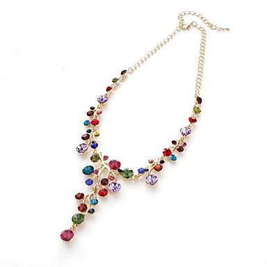 povoljno Modne ogrlice-Žene Privjesci Konj dame Klasik Europska Imitacija dijamanta Legura Zlato Ogrlice Jewelry Za Dar Dnevno