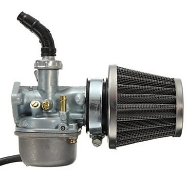 cheap Motorcycle & ATV Parts-PZ19 Carburetor Carb and 35mm Air Filter for 50cc 70cc 80cc 90cc 110cc 125cc Dirt Pit Bike Taotao Honda CRF ATV Scooter Moped Go karts