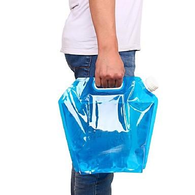 5l νερό τσάντα για φορητή αναδιπλούμενη τσάντα ανύψωσης νερού για κάμπινγκ πεζοπορία επιβίωση ενυδάτωση