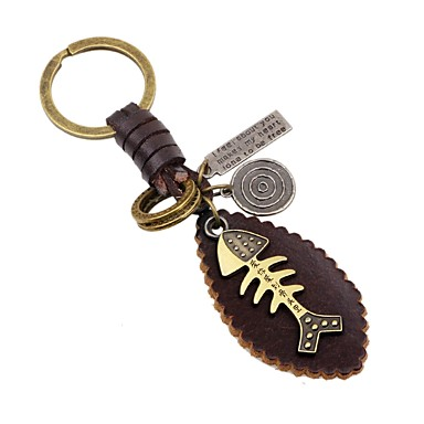 cheap Keychains-Keychain Animals Fashion Ring Jewelry Gold For Daily Going out