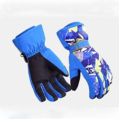 Χειμωνιάτικα Γάντια Γάντια του σκι Ανδρικά Γυναικεία Αθλήματα Χιονιού Ολόκληρο το Δάχτυλο Χειμώνας Αδιάβροχη Διατηρείτε Ζεστό Ίνα νάιλον Σκι