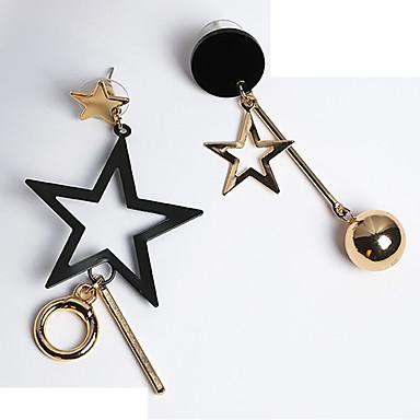 Γυναικεία Ασύμφωνα σκουλαρίκια Ακατάλληλο κυρίες Κομψό Σκουλαρίκια Κοσμήματα Χρυσό Για Δώρο Εξόδου