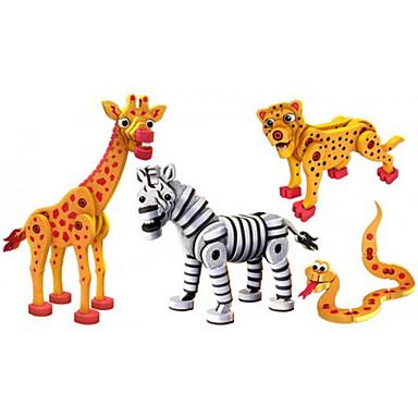 Τουβλάκια 4 pcs Φίδι Δεινόσαυρος Ζεβρέ συμβατό Legoing Φτιάξτο Μόνος Σου Σύνολα Mix & Match Σετ Παιχνίδια Δώρο