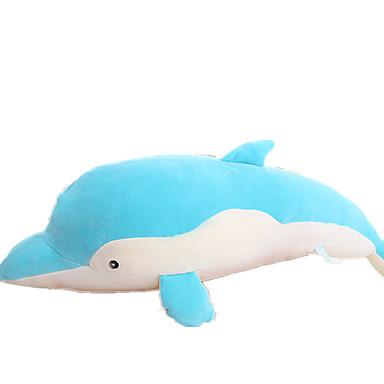 παραγεμισμένα παιχνίδια Animale de Pluș Παιχνίδια Dolphin Ζώο Ζώα Χαριτωμένο Ζώα Μεγάλο Μέγεθος Παιδικά Κομμάτια