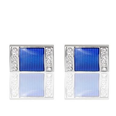 Butoni Casual / Σπορ Κοστούμια Κοσμήματα Καρφίτσα Κοσμήματα Μπλε Για Γάμου