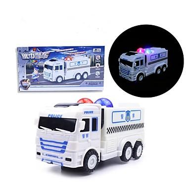 Iluminação de LED Carro de Polícia Férias Música Aniversário Iluminação Voz Elétrico Crianças Brinquedos Dom