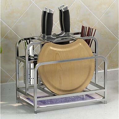 Οργάνωση κουζίνας Επιτραπέζια Διοργανωτές Ανοξείδωτο ατσάλι Εύκολο στη χρήση 1pc