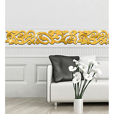 899 Decorative Wall Stickers Mirror Wall Stickers Mirrors Shapes Living Room Bedroom Bathroom