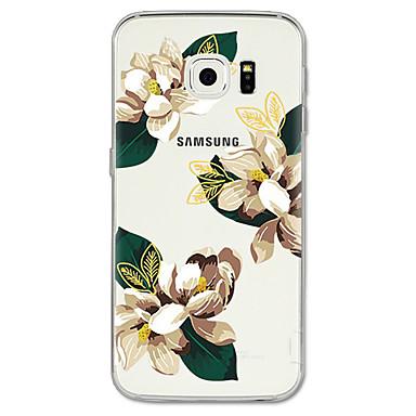 tok Για Samsung Galaxy S8 Plus / S8 / S7 edge Με σχέδια Πίσω Κάλυμμα Λουλούδι Μαλακή TPU