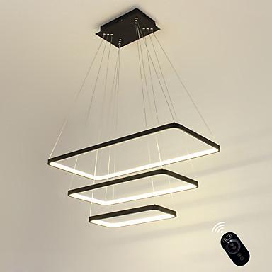 preiswerte Deckenlichter & Ventilatoren-ecolight ™ geometrische lineare Pendelleuchte inklusive Umgebungslichtlampe, einstellbar, dimmbar 110-120 V / 220-240 V warmweiß / weiß / Wi-Fi smart
