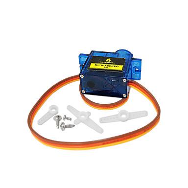 preiswerte Roboter Zubehör-1 stücke keyestudio mini 9g servomotor 23 * 12,2 * 29mm blau für arduino roboter