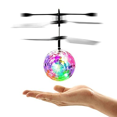 RC Helicopter Mini Magic Flying Ball Without Camera Ready-to-go Remote Control / RC / LED Flash Lighting / LED Light Classic